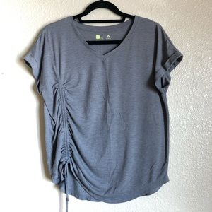 Grey Xersion 🏋🏻♀️ Short Sleeve Work-out T-shirt